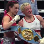 Imagen tras el combate entre Maiva Hamadouche y Nina Pavlović