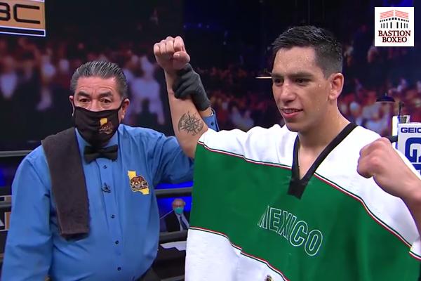 El veterano pegador James Kirkland fue batido en un asalto por el noqueador mexicano Juan Macías Montiel