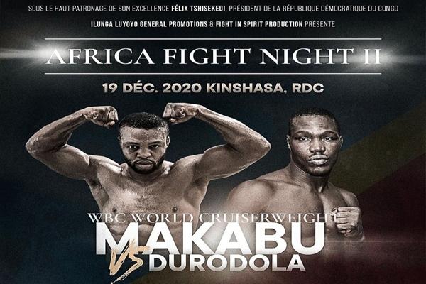 Ilunga Makabu retuvo su cinturón mundial WBC del peso crucero con KO sobre Durodola