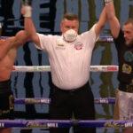 Imagen de la proclamación del combate Florian Marku vs. Jamie Stewart