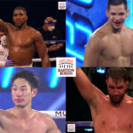 Mosaico de los resultados de los mejores combates del fin de semana (11y12-12-2020)