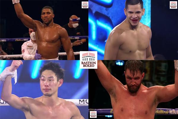 Resultados de los mejores combates del fin de semana (11y12/12/2020)