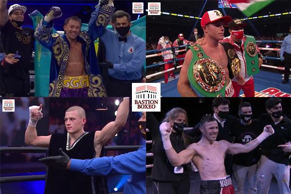 Resultados de los mejores combates de la semana (16al20/12/2020)