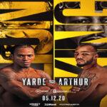 Cartel del evento Anthony Yarde vs. Lyndon Arthur