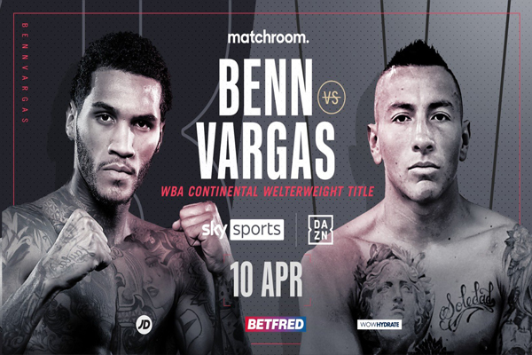 Previa: Conor Benn comparará su rendimiento al de Vergil Ortiz midiéndose a Samuel Vargas en velada de Matchroom/DAZN