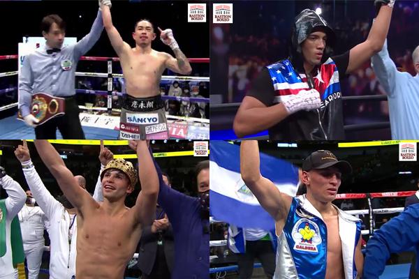 Resultados de los mejores combates del final de temporada (22al31/12/2020)