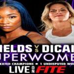 Cartel promocional del combate Claressa Shields vs. Marie Eve Dicaire