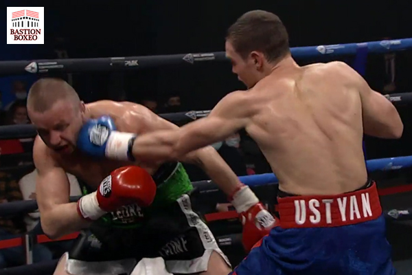 Oganes Ustyan lanza un jab contra Alexey Tukhtarov