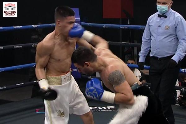 Zhora Hamazaryan impacta golpe de la victoria ante Dmitry Yun
