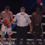 Proclamación del combate entre Darren Tetley y Samuel Antwi