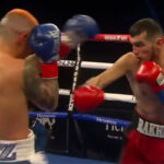 Imagen del combate entre Joseph Díaz y Shavkat Rakhimov