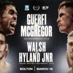 Cartel promocional del evento Karim Guerfi vs. Lee McGregor