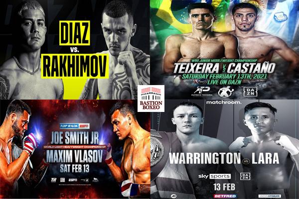 Los mejores combates de este fin de semana (12y13/2/2021)