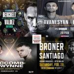 Mosaico de los mejores combates de la semana (17al20-2-2021)