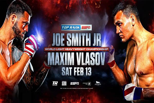 Previa: Este sábado, el duelo entre Joe Smith Jr. y Maxim Vlasov encumbrará a un nuevo campeón mundial semipesado