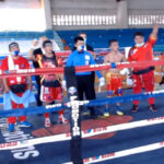 Proclamación del combate Pedro Tadurán vs. René Cuarto