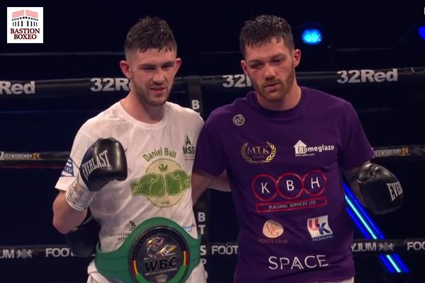 Danny Ball venció muy buen combate ante Sam Gilley, Maxwell ganó rodaje y Adeleye noqueó