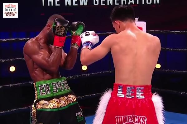 El noqueador Brandun Lee venció su mayor combate ante Samuel Teah con duro KO en el tercer round (Vídeo del knockout)