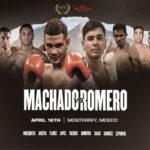 Cartel promocional del evento Neslan Machado vs. Brandon Moreno