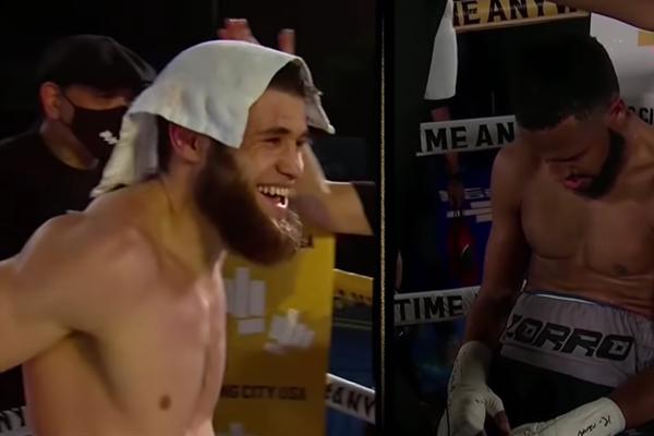 Ruslan Madiyev sonríe por el veredicto en su contra ante Danielito Zorrilla