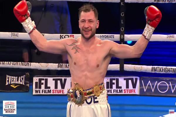 Maxi Hughes se convirtió en monarca británico ligero venciendo a Paul Hyland, aunque entre recurrentes acciones antideportivas