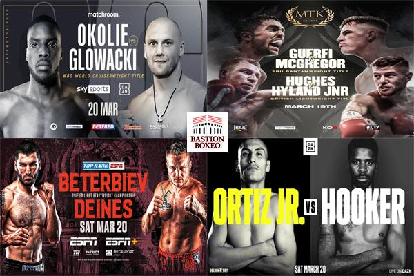 Los mejores combates de esta semana (18al20/3/2021)