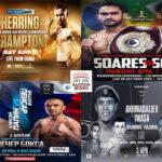 Mosaico de los mejores combates de la semana (31al2-3y4-2021)