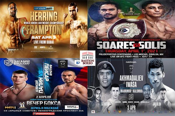Los mejores combates de esta semana (31al3/3y4/2021)