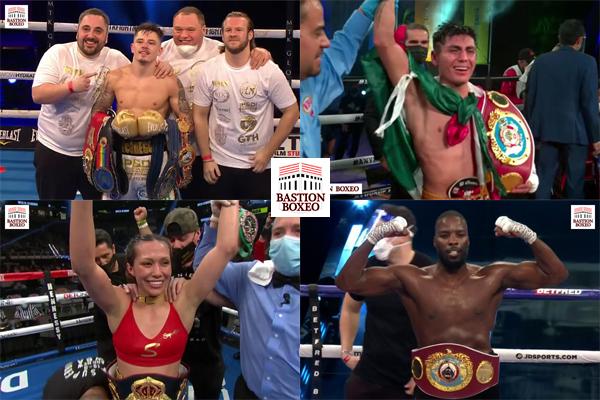 Resultados de los mejores combates de la semana (18al20/3/2021)