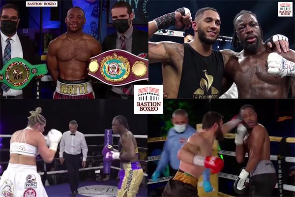 Mosaico de los resultados de los mejores combates (3al6-3-2021)
