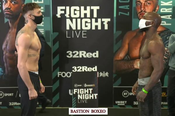 Resultados y vídeo del pesaje del evento Zach Parker vs. Vaughn Alexander y Brad Foster vs. Álvaro Rodríguez