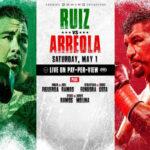 Cartel promocional de la velada Andy Ruiz vs. Chris Arreola
