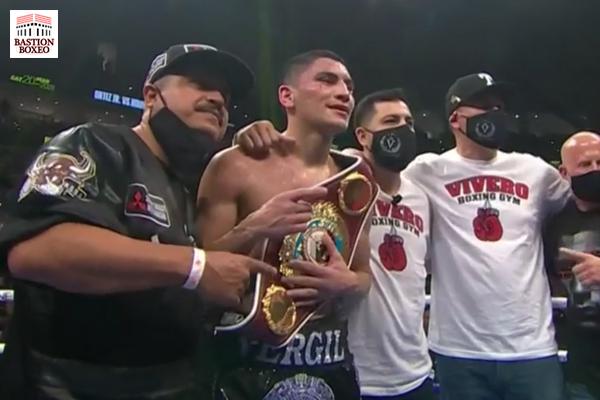 El pegador del peso wélter Vergil Ortiz mantuvo su 100% de knockouts batiendo por KOT al excampeón Maurice Hooker
