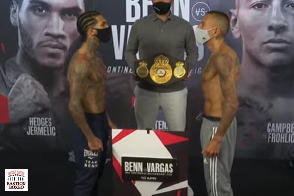Resultados y vídeo del pesaje del evento de DAZN Conor Benn vs. Samuel Vargas