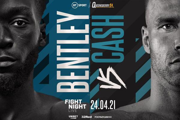 Previa: Los imbatidos top 15 WBO Denzel Bentley y Felix Cash se miden en campeonato británico y de la Commonwealth del peso medio