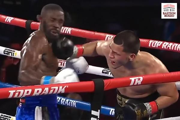 La racha de knockouts en el primer asalto de Edgar Berlanga se cortó con una amplia victoria por decisión sobre Nicholson