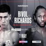 Cartel promocional del combate Dmitry Bivol vs. Craig Richards