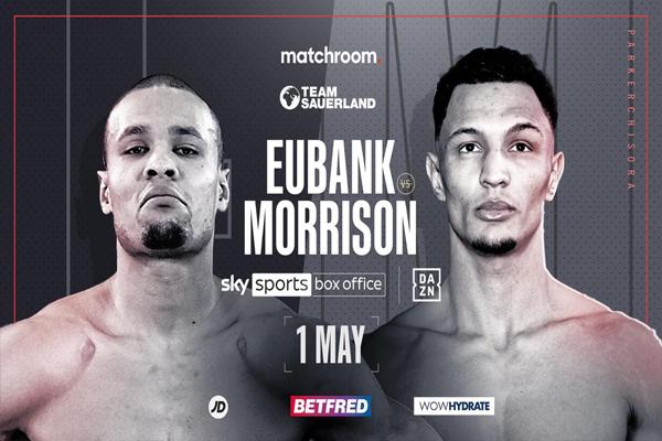 Cartel promocional del combate Chris Eubank Jr. vs. Marcus Morrison