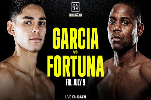 Confirmado oficialmente Ryan García vs. Javier Fortuna, declaraciones de los protagonistas