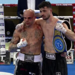 Imagen tras el combate Arblin Kaba vs. Luciano Randazzo