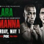 Cartel promocional del combate Erislandy Lara vs. Thomas Lamanna
