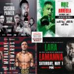 Mosaico de los mejores combates de la semana (30y1-4y5-2021)