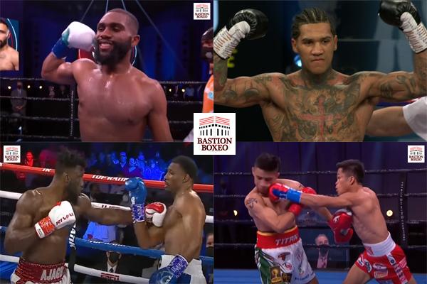 Resultados de los mejores combates de la semana (8al10/4/2021)