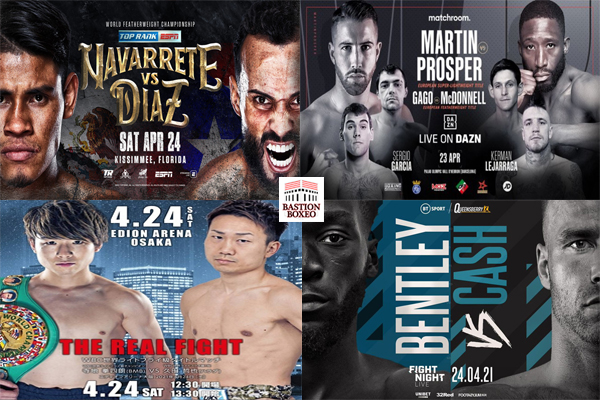 Los mejores combates de esta semana (20al24/4/2021)
