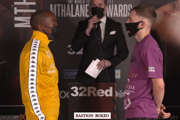 Resultados y vídeos de los pesajes del Mthalane vs. Edwards y del Conlan-Baluta