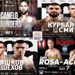 Mosaico de los mejores combates de la semana (7y8-5-2021)