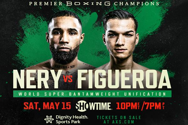 Cartel promocional del evento Luis Nery vs. Brandon Figueroa