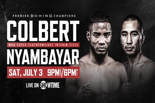 Previa: Este sábado Chris Colbert vs. Tugstsogt Nyambayar y Jon Fernández vs. Michel Rivera en velada de Premier Boxing Champions