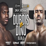 Cartel promocional del combate Daniel Dubois vs. Bogdan Dinu