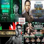 Mosaico de los mejores combates de la semana (24al27-6-2021)